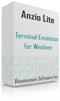 anzio lite, terminal emulator for windows