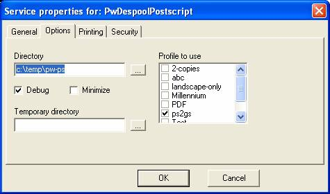 Printing Postscript with Print Wizard | Anzio com