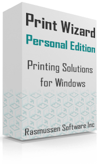 print wizard personal edition