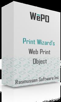 WePO web print object